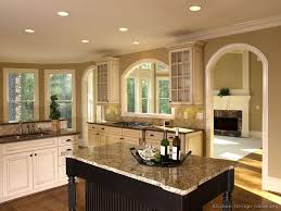 good paint colors for kitchensPictures of Kitchens  Traditional  TwoTone Kitchen Cabinets