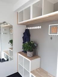 Garderobe Aus Kallax Regalen House In 2019 Kallax Garderobe Und