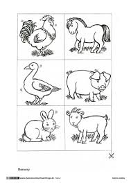 Bauernhof Memo Spiel Tiere Illustratoren Für Flüchtlinge Kita