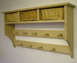 Shaker Style Coat Rack Basket shelves Shaker Peg Rails Country Shaker 39