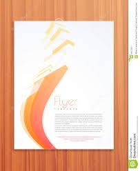 professional flyer template or brochure design stock photo professional flyer template or brochure design