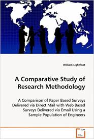 A thesis abstract should consist of 350 words or less including the heading. A Comparative Study Of Research Methodology A Comparison Of Paper Based Surveys Delivered Viadirect Mail With Web Based Surveys Delivered Viaemail Using A Sample Population Of Engineers Lightfoot William 9783639071399 Amazon Com Books