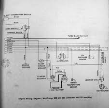 wiring diagram needed hei voltmeter mercuiser sbc this is from my mercruiser manual