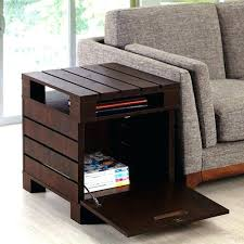 small end tables with storage large round end table with storage inspiring living room ideas side