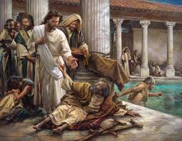 Image result for pictures of Jesus seeing the needy