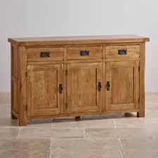 Rustic Kitchen Sideboard Sideboards Oak Furniture Land