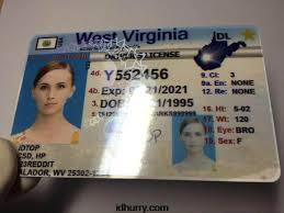 Fake West Maker Card Virginia Id