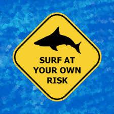 shark sign disclaimer