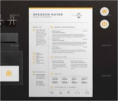 Best Resume Layout 40 Fresh Graphic Designer Resume Template Free Delectable Resume Layout 2017