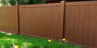 Vinyl Privacy Fence Image 1 Vinyl Privacy Fence Nongzico