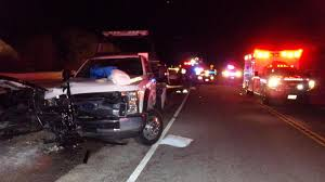 Move over and slow down,' says truck driver hit on side of road in ...