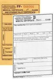 Types Of Medical Certifications Medical Certificate In The Life Of A Pilot