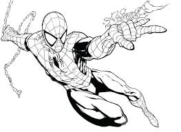 Color Spider Man Baby Man Coloring Pages Man Color Book As