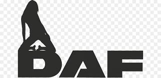 daf truk stiker logo gambar png