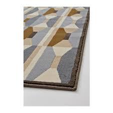 vidstrup rug low pile dark yellow