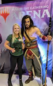 """Amie Gilbert på Twitter: """"I had a wonderful time at the Magic the Gathering  info event last night, met some stellar people and am excited for future  Wizards of the Coast happenings."""