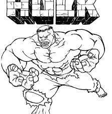 Marvellous Design Hulk Coloring Pages Free To Print Page Best And
