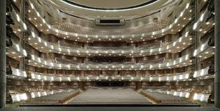 Four Seasons Centre Performing Arts Toronto Seating Chart Fisher Dachs Associates Services Performance Space