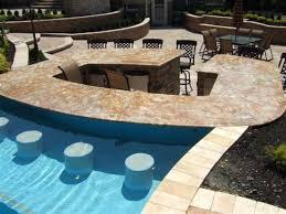 backyard pool bar. Backyard Swimming Pool Ideas Bar