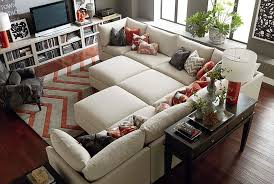 Ottoman Beckham Living Room Bassett Furniture