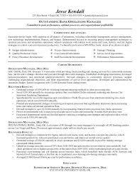 Business Management Resume Objective Business Management