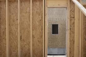 how to frame a non load bearing interior wall on concrete