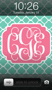 Amazing Customizable Monogram Wallpaper Download For All Your Devices!