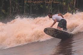 ombak bono sungai kampar riau