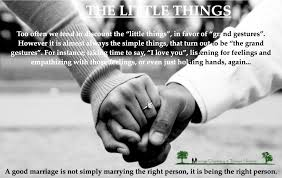 Love The Small Things In Life Quotes With Inspirational Marriage