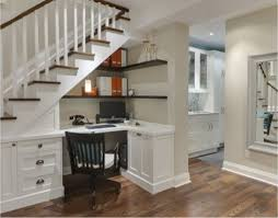 traditional hidden home office desk. Simple Office Furniture Fantastic Under The Stairs Storage Ideas Outstanding Stair  Decorations Photo Basement Bar Amazing Images Throughout Traditional Hidden Home Office Desk D