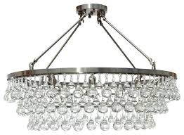 glass drop chandelier flush mount glass drop crystal chandelier chrome celeste flush mount glass drop crystal