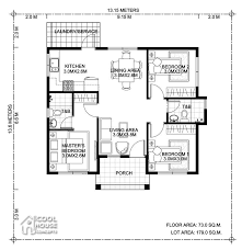 3 bedroom bungalow house plan cool