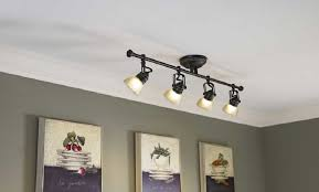 Astonishing Low Profile Track Lighting Fixtures 71 About Remodel Monorail Track Lighting Home Depot