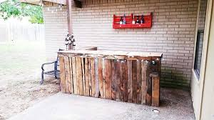 diy pallet patio bar. DIY Bar Using An IKEA Cabinet And Reclaimed Wood By 2Perfection Decor Blog Featured On Remodelaholic Diy Counter Home Design 14 Pallet Patio L