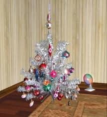 Second Life Marketplace Aluminum Christmas Tree With Color Wheel Boxed