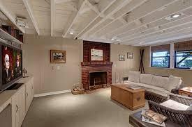 Unfinished Basement Design Property Custom Design