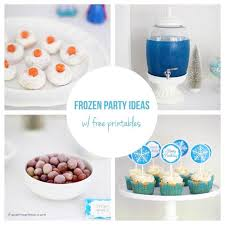 Diy Party Printables Frozen Party Ideas With Free Printables