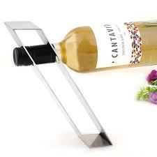 Bar Bottle Display Stand Gravity Suspension Creative Stainless Steel Wine Holders Fashion 96