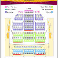 Judicious Seat Number Fox Seating Chart Fox Theatre Detroit