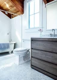Glass For Bathroom Bathroom Of The Week An Artist Made Mosaic Tile Floor Start To