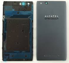 Alcatel Idol Alpha battery cover grey