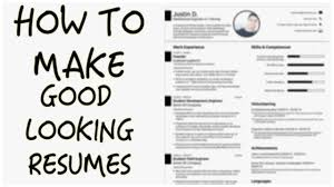 Build A Good Resume How To Build A Good Resume Astonishing Easiest Way To Make A