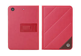 red rock luxury series smart leather cover stand for ipad mini 2 retina