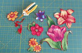 Spring Collage Quilt   WeAllSew & Spring Collage Quilt-Trimmed motifs Adamdwight.com