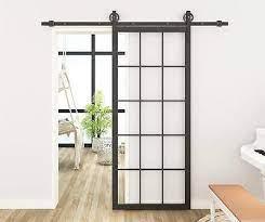 diyhd black steel framed interior clear
