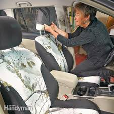 club car replacement seat covers spruce up your car how to install seat covers family handyman