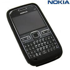 nokia e72. nokia cc-1000 silicone cover for e72 - black