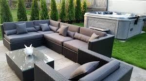 gray patio furniture. WickerPark® Lovett Patio Furniture Sale Toronto - Silver Hill Gray O