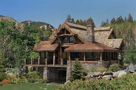 precisioncraft log homes the alderbrook home our best mountain house plans