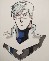 Add two big diamond shapes for his legs and sketch in four ovals and two rectangles for arms. Vld Art Blog Name Takashi Shiro Shirogane Age 25
